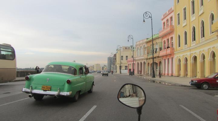 Typische auto in Havana