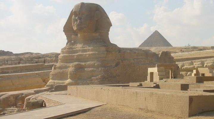 De sfinx van Gizeh