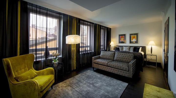 Hotel Lilla Roberts slaapkamer
