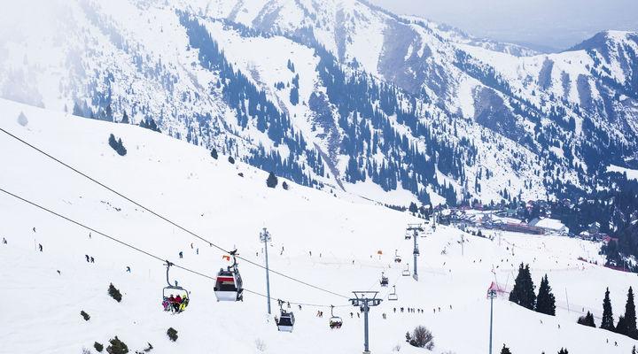 Skigebied Shymbulak