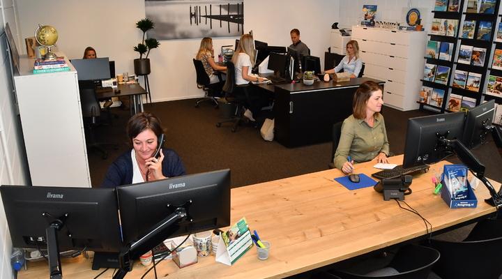 Het kantoor van Reisbureau Reisgraag.nl